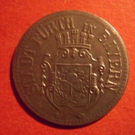 Fürth , 10 Pfennig 1917 Fe      F145.3 var.Ia (6544)