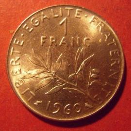 1 Franc 1960      KM925 (11731)