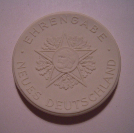 1968-70 Berlin , Honorary medal new Germany. Meissen Porcelain 43mm W4069.2 - IV (15704)