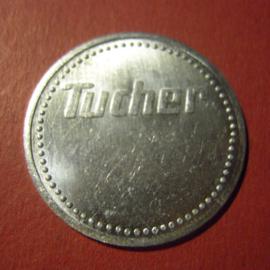 Nürnberg - Tucher brewery , Beer token no date Al M19327.3 (6841)