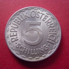 5 Schilling 1952       ANK035/KM2879 (7509)