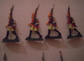 1760 Prussian grenadiers , 20x flat 30mm scale. Grünewald - Wedemark (15561)