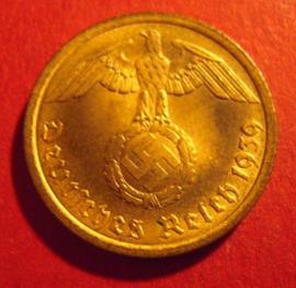 10 Reichspfennig 1939 A      J.364          (2389)