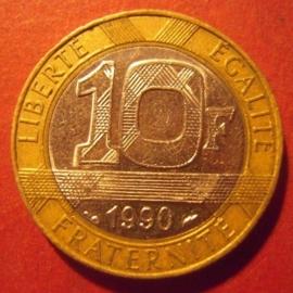 10 Francs 1990     KM964.1 (11710)