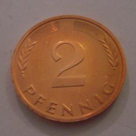 Germany - BRD - 2 Pfennig 1993 G  Unc !!!    J381a/KM106a (14975)