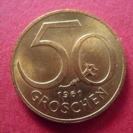 50 Groschen 1961       ANK018/KM2885 (7504)