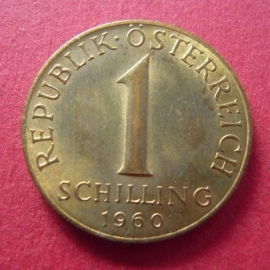 1 Schilling 1960       ANK022/KM2886 (7506)