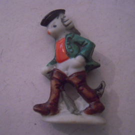 1944 spring German WHW donation gift. Fairy tales - Master Cat. Porcelain glazed !!! T581.2 (15878)