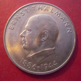 GDR / DDR , 20 Mark 1971 - Ernst Thälmann. CuNi J1535/KM34 (10097)