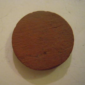 Netherlands 1940's WHN donation gift. Dutch cities - Rolde. Ceramic without pin 30mm T055 (14890)