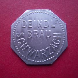 Schwarzach - Deindl Brewery ½ liter Bier no date Al M23037.1 (6844)