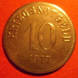 Fürth , 10 Pfennig 1917 Fe      F145.3 var.IId (6531)