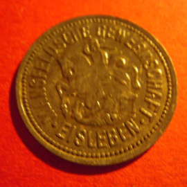 Eisleben - Mansfeldsche Gewerkschaft , 10 Pfennig 1917 Zn M6326.05 (4751)