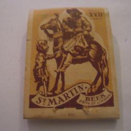 Belgium WHW donation gift. 1941 Match box St.Martin - Beek - Vendu au benefice Secours d'hiver. Complete ca. 37x48mm T005b (15237)