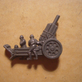 1941-03-22/23 German WHW donation gift. , Armed Forces components - Heavy morter. Trolitul T383 (13471)
