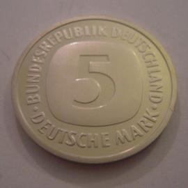 Germany - BRD , 5 Mark 1993 G.  Unc !!!     KM140.1 (14983)