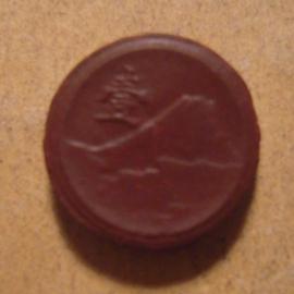 Japan  , 1 Sen 1945. Rare !!! Porselein producent Japan 15mm  Sch615a - R !!! (13584)