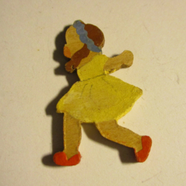 1938-12-17/18 German WHW donation gift. Months of the year - May. Wooden, hand painted T165 (16418)