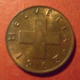 1 Rappen 1963      KM46 (11881)