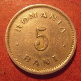 Königreich Rumänien , Carol I , 5 Bani 1900      KM28 (11434)