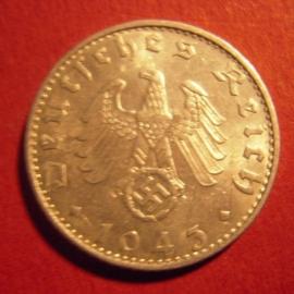 Germany - Third Reich , 50 Reichspfennig 1943 B      J372/KM96 (6706)
