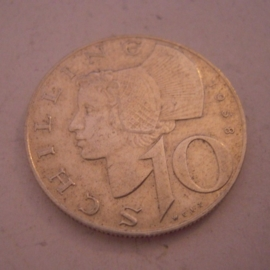10 - 500 Schilling - Second Republic Austria