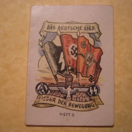 1942 Oct. German WHW donation booklet Songs of the movement   T512 (13032)