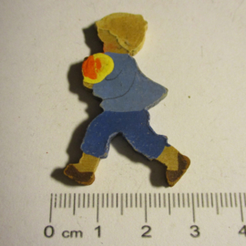 1938-12-17/18 German WHW donation gift. Months of the year - September. Wooden, hand painted T169 (16417)