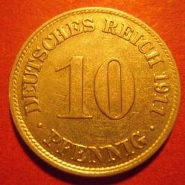 10 - 50 Pfennig 1871 - 1918 German Empire