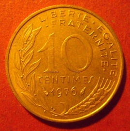 10 Centimes 1976      KM929 (11729)