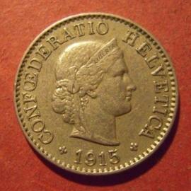 5 Rappen 1915 B                          KM26 (11891)