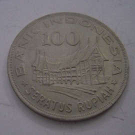 Indonesia , 100 Rupiah 1978 - Forestry      KM42 (14495)