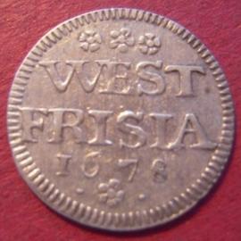 West-Friesland - Enkhuizen , 2 Stuiver 1678 !!!   Very rare !!!     Wf91/KM75 (9738)