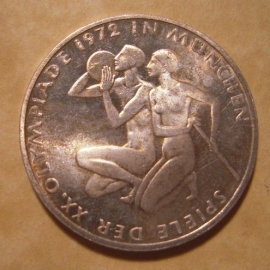 10 Mark 1972 F  (Olympic games Athletes)      J403/KM132 (12700)
