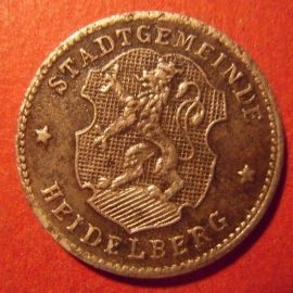 Heidelberg , 10 Pfennig No date Fe      F203.3b (7576)