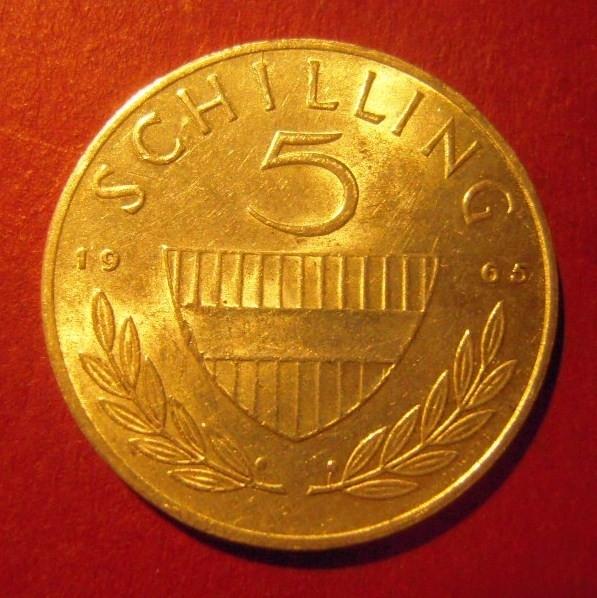 5 Schilling 1965       ANK036/KM2889 (7401)