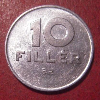 Volksrepublik Ungarn , 10 Filler 1979      KM572 (12551)