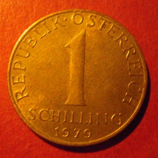 1 Schilling 1979       ANK18/KM2886 (7395)