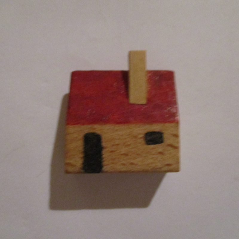 1942-12-19/20 German WHW donation gift. Wooden toys - House T532 (16249)