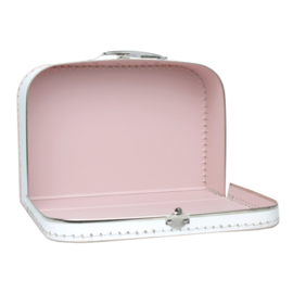Suitcase THE RIVER HOUSE pink cloud 30 cm