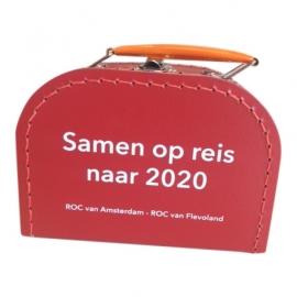 Koffertje ROC van Amsterdam 16 cm