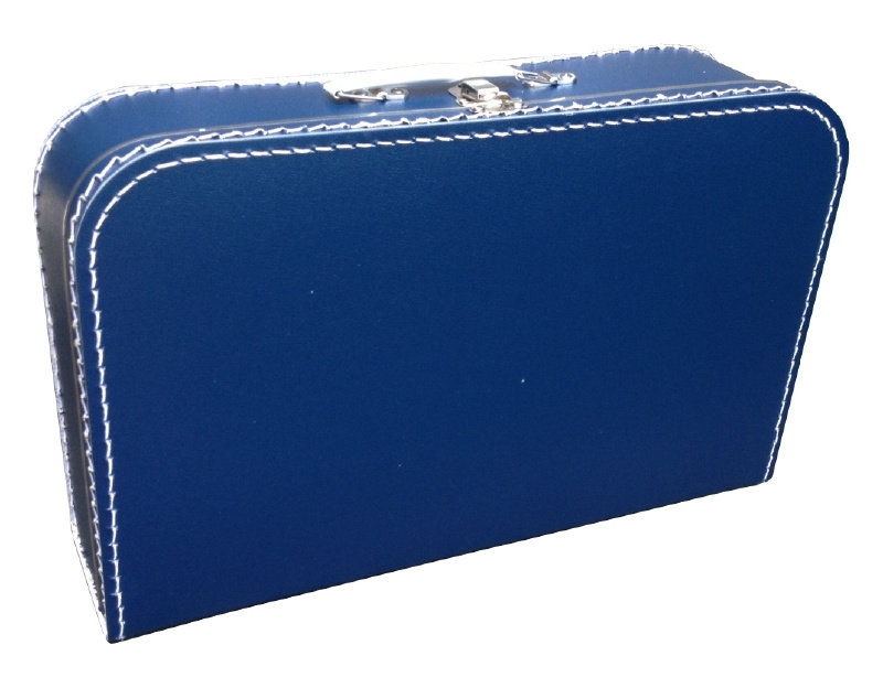 koffertje DONKERBLAUW 40 cm
