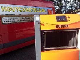 Burnit Alpha houtvergasser 25 / 35 kW