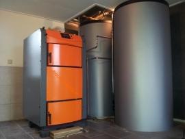Burnit Alpha houtvergasser 40 / 50 kW