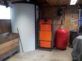 Aanpassen buffertank van 1500 naar 3000 liter te Breezand