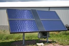 Zonnecollectoren incl. standaard