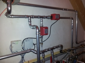 Leveren en installeren buffer en Burnit houtvergasser 40 kW Te Holten