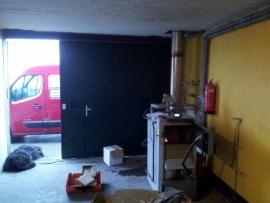 Onderhoud Houtvergasser  Te Wieringerwerf
