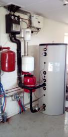 Leveren en installeren zonneboiler met A+ boiler