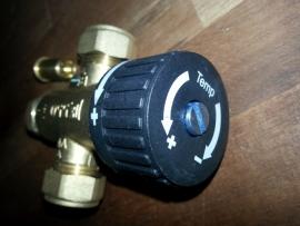 mix ventiel 40 tot 60 C
